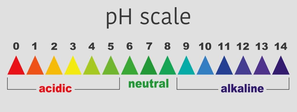 pH-Wert Scala